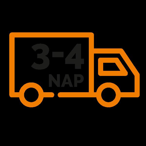 3-4 napos szállítás