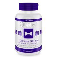 Bioheal Kalcium 500 mg + D3-vitamin+ K2-vitamin (70 db) filmtabletta