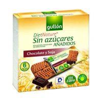 Gullon Snack csokoládés szelet hozzáadott cuk.nélk (144g)