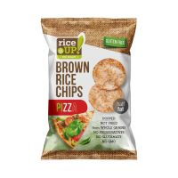 Rice Up rizs chips pizzás GM (60g)