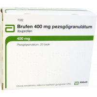 Brufen 400 mg pezsgőgranulátum