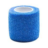Öntapadó rug.kötésrögzítő pólya kék (5cmx4,5m)
