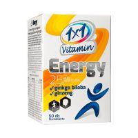 1x1 Vitamin Energy filmtabletta ginkgo bilobával és ginzenggel