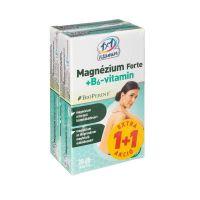 1x1 Vitamin Magnézium Forte + B6-vitamin filmtabletta BioPerine-nel