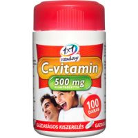 1x1 Vitaday C-vitamin 500 mg filmtabletta