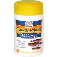 1x1 Vitaday Csukamájolaj 1000 mg lágykapszula