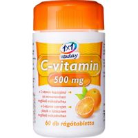 1x1 Vitaday C-vitamin 500 mg rágótabletta narancs