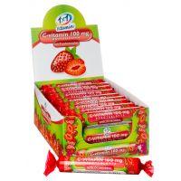 1x1 Vitaday C-vitamin 100 mg szőlőcukor rágótabletta eper