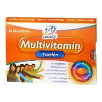 1x1 Vitaday Multivitamin + szelén filmtabletta