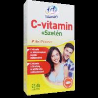 VitaPlus 1x1 C vitamin+Szelén BioPerine filmtabletta (Pingvin Product)