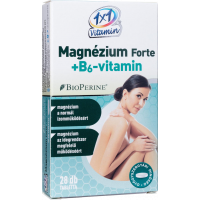 Vitaplus 1x1 Magnézium Forte B6 BioPerine filmtabletta (Pingvin Product)