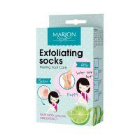 Marion hámlasztó lábápoló zokni bőrradíros  (2x20ml)