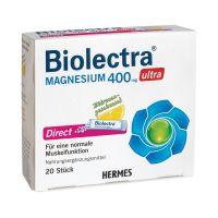 Biolectra Ultra Direct Mg granulátum Citrom (20x)