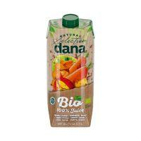 Dana Bio 100% gyümölcslé, alma-mangó-sárgarépa-citrom (750ml)