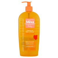 Mixa habzó babaolaj fürdetéshez pumpás (Pingvin Product)