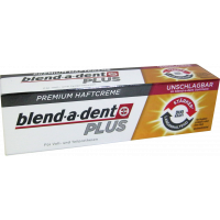 Blend-a-dent műfogsorrögzítő krém Prémium Plus Duo