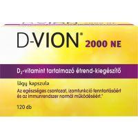 D-Vion D3 2000NE kapszula (120db)