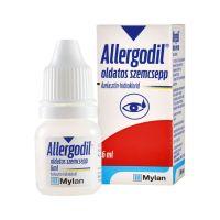 Allergodil oldatos szemcsepp