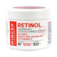 Mincer Pharma Retinol hidr.arckrém E-vit. Hial.502 (50ml)