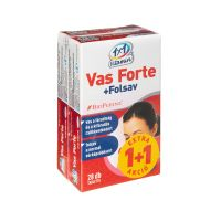 VitaPlus 1x1 Vas Forte+C+Folsav BioPerine ftabl. (2x28db)