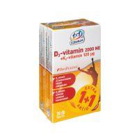 VitaPlus 1x1 D3 2000NE K2 120 mcg BioPerine ftabl. (2x28db)