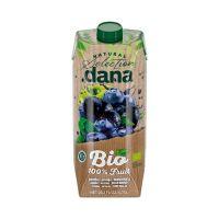 Dana Bio 100% gyümölcslé, alma-arónia-kékáfonya (750ml)