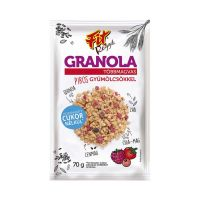 Fit Reggeli Granola piros gyümölcsös