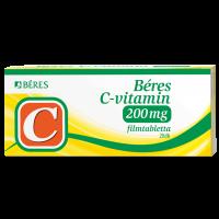 Béres C-vitamin 200mg filmtabletta (Pingvin Product)