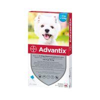 Advantix spot on 4-10 kg közötti kutyáknak A.U.V. (4x1,0ml)