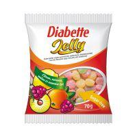 Diabette Jelly vegy.gyüm.zselécukorka steviával (70g)