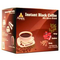Ayura Herbal Instant Black Coffee steviaval