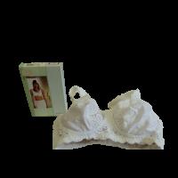 Amoena Jasmin protézis melltartó fehér bal 70B