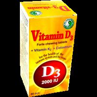 D3-vitamin Forte rágótabletta DR.CHEN