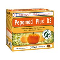 Biomed Pepomed Plus D3 vitamin kapszula (100db)