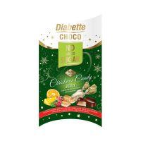 Diabette NAS étcsokoládés szaloncukor gyümölcsízű zselés (Pingvin Product)