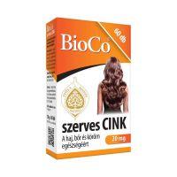 BioCo szerves cink tabletta (60db)