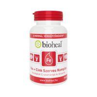 Bioheal Vas+Cink Szerves Komplex filmtabletta (70 db)