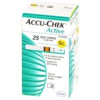 AccuChek Active Glucose vércukormérő csík