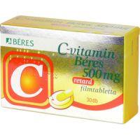 Béres C-vitamin 500mg retard filmtabletta