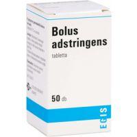 Bolus adstringens tabletta