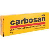 Carbosan szájnyálkahártyán alkalmazott gél