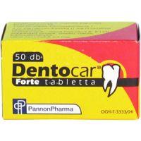 Dentocar forte tabletta