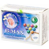 B-MAX Multivitamin és Aktív Ginseng tabl. DR.CHEN
