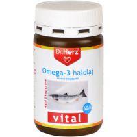 Dr.Herz Omega-3 halolaj lágy kapszula