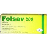Folsav 200 tabletta