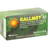 Gallmet-M gyógynövény kapszula