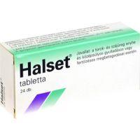 Halset 1,5 mg préselt szopogató tabletta