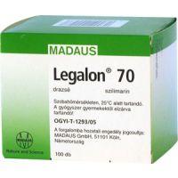 Legalon  70 mg kemény kapszula