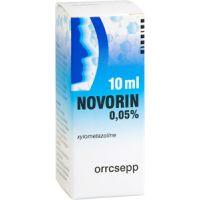 Novorin 0,05% oldatos orrcsepp