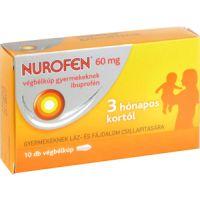 Nurofen  60 mg végbélkúp gyermekeknek